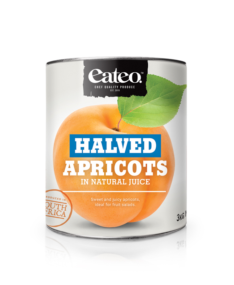 Apricots Halved in Natural Juice