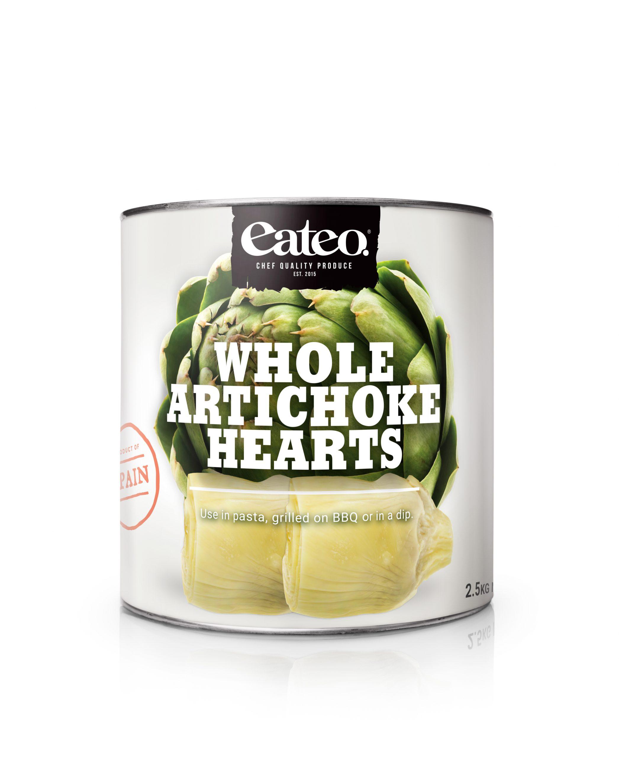 Whole Artichoke Hearts