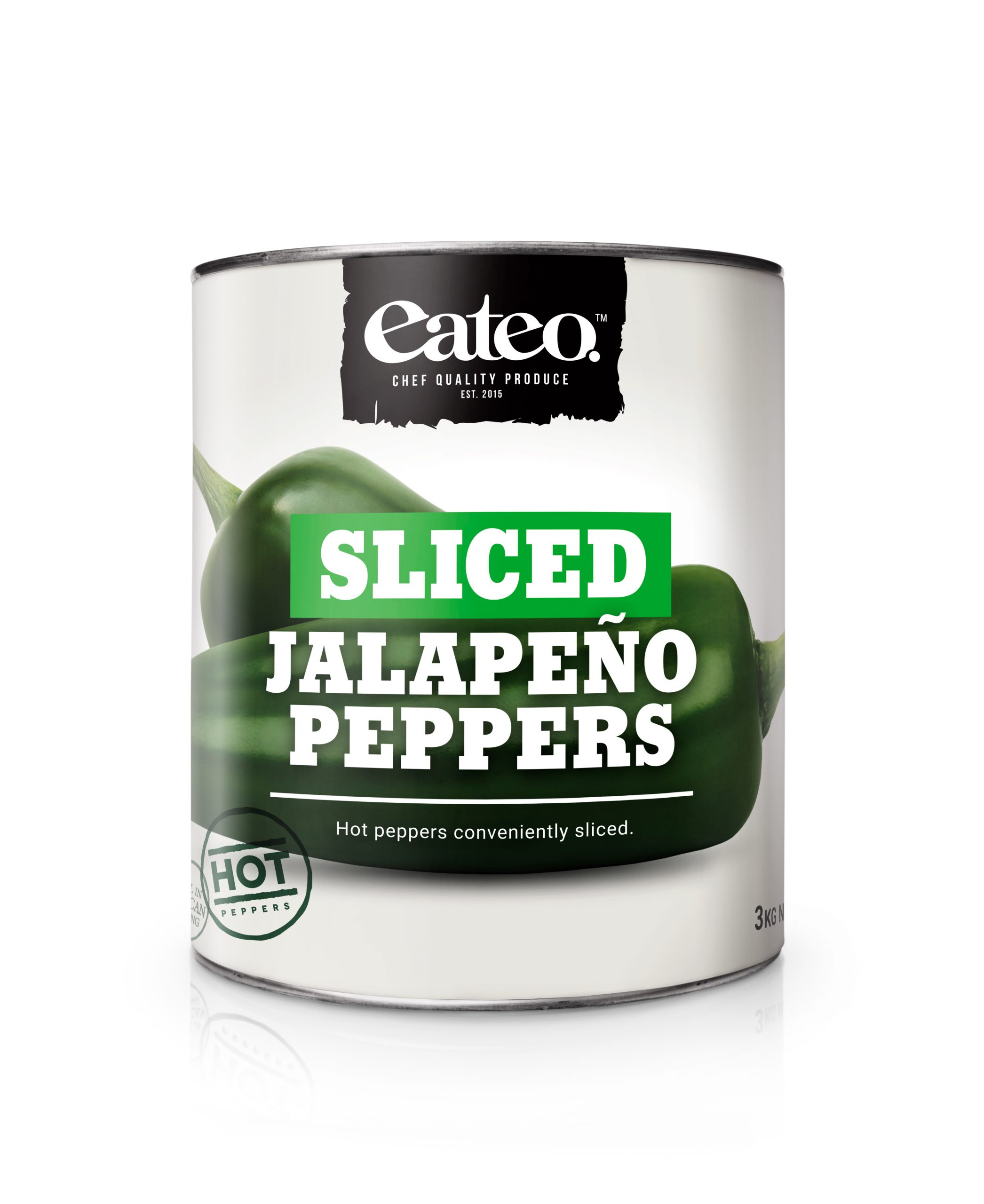 Sliced Jalapeño Peppers