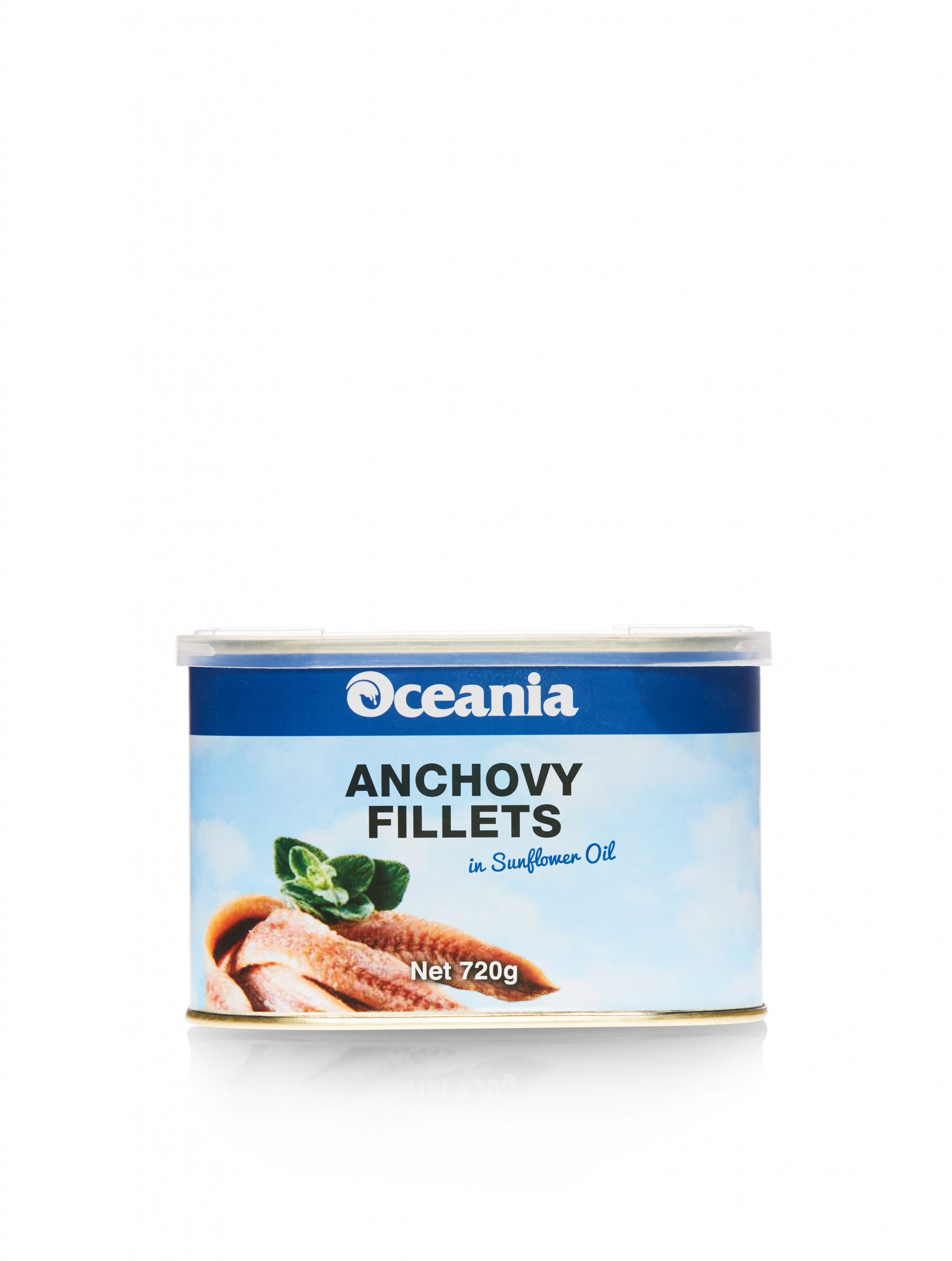 Anchovy Fillets in Sunflower Oil