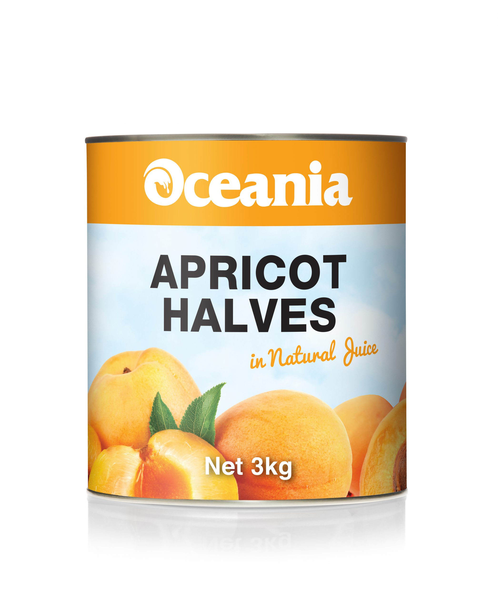 Apricot Halves In Natural Juice