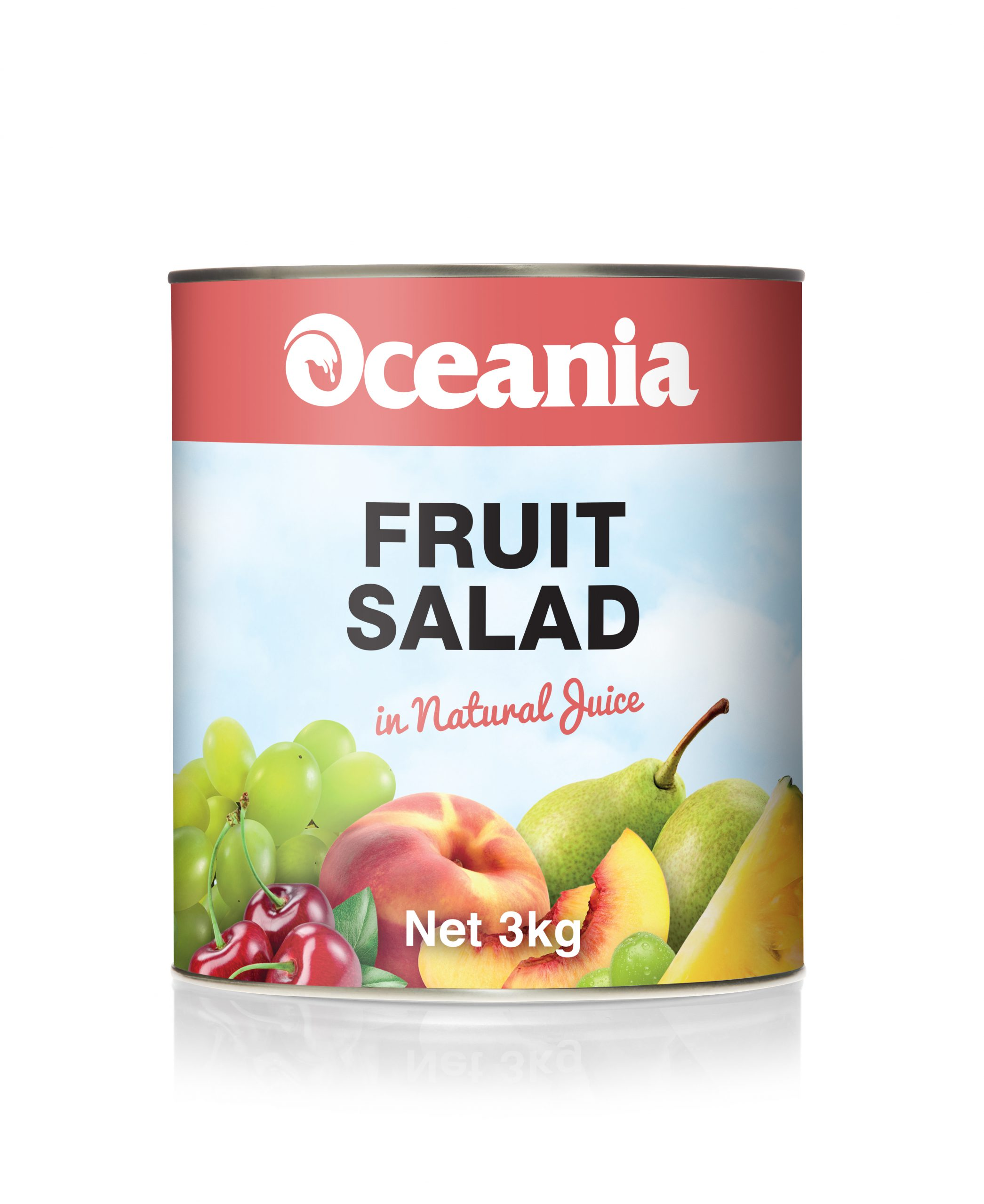 Fruit Salad In Natural Juice