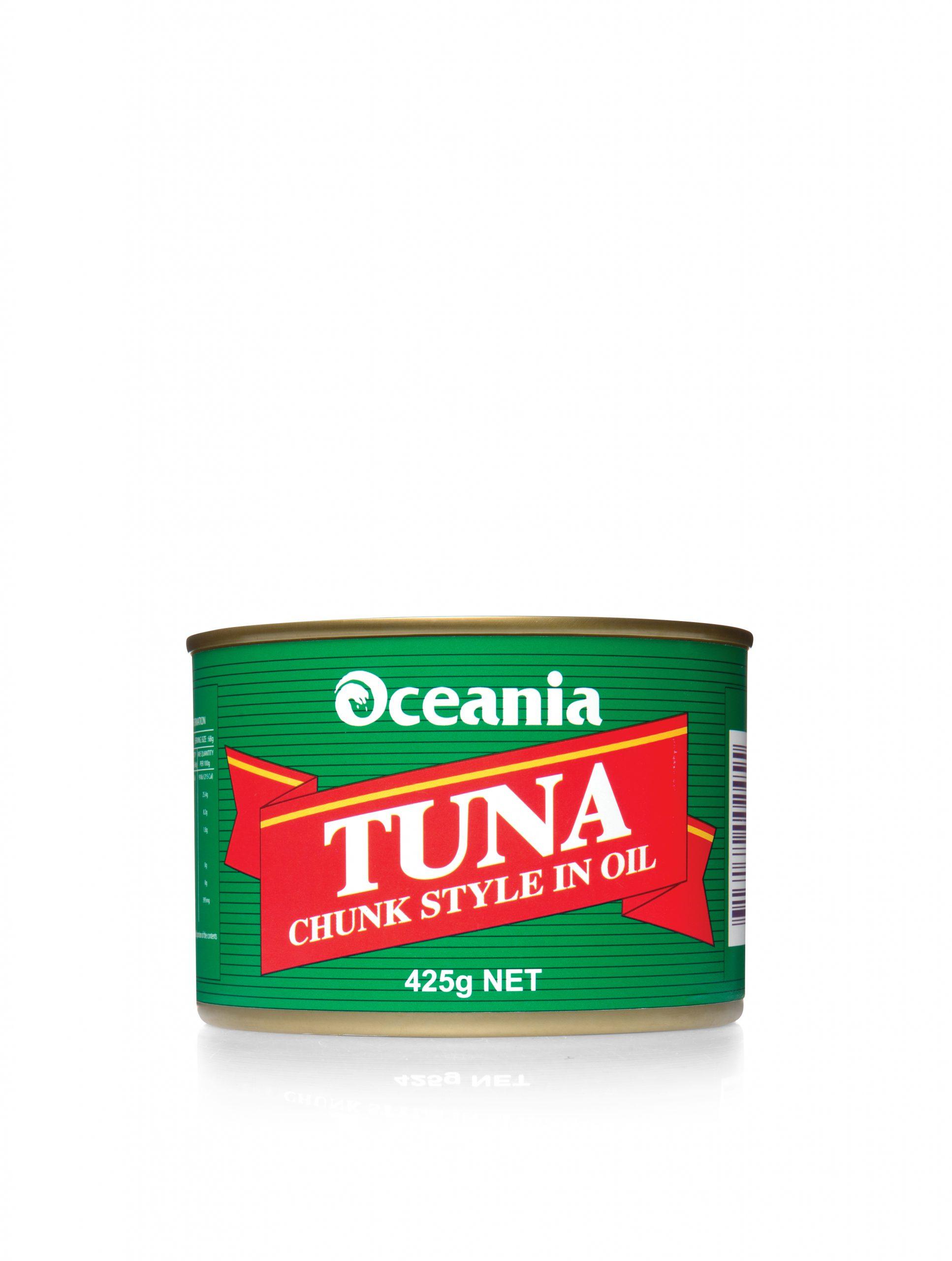 Tuna Chunks In Oil
