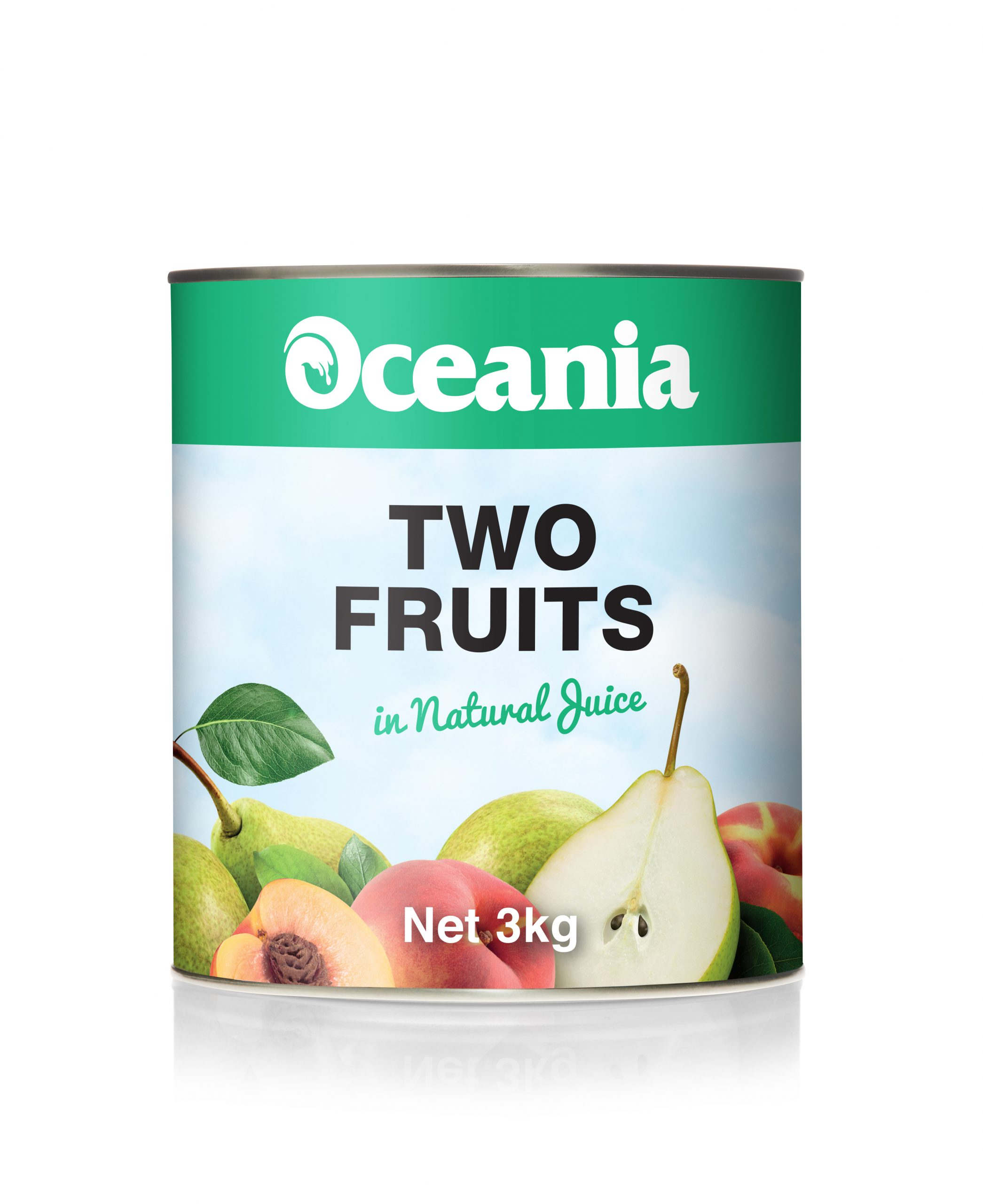 Two Fruits in Natural Juice
