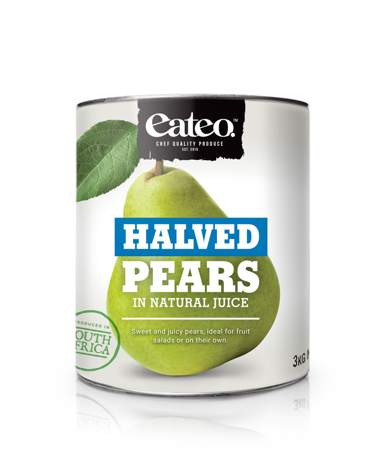 Pear Halves In Natural Juice