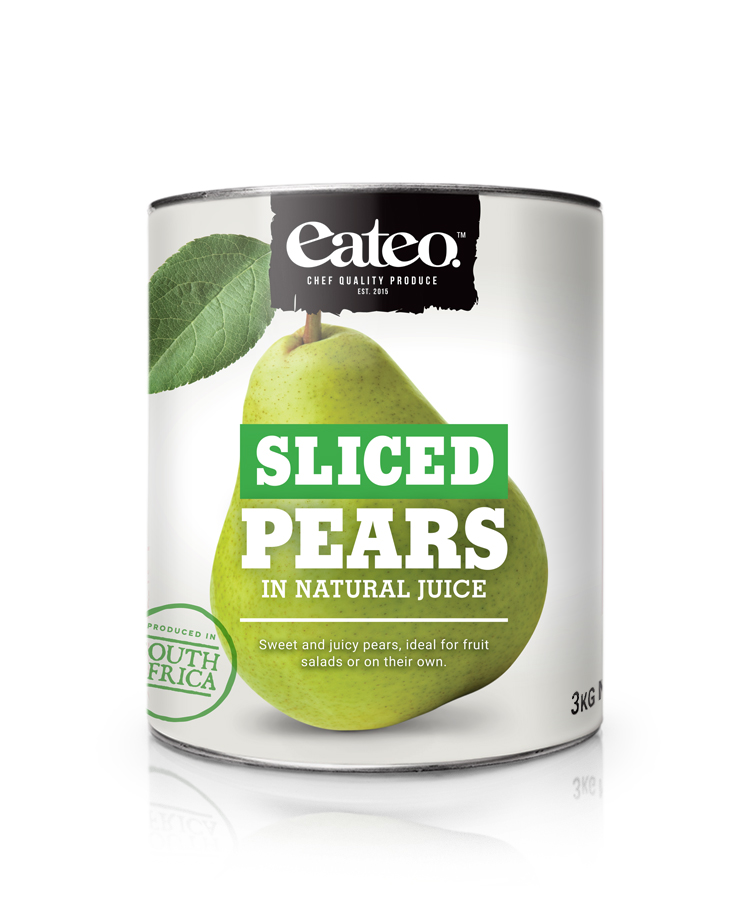 Sliced Pears In Natural Juice