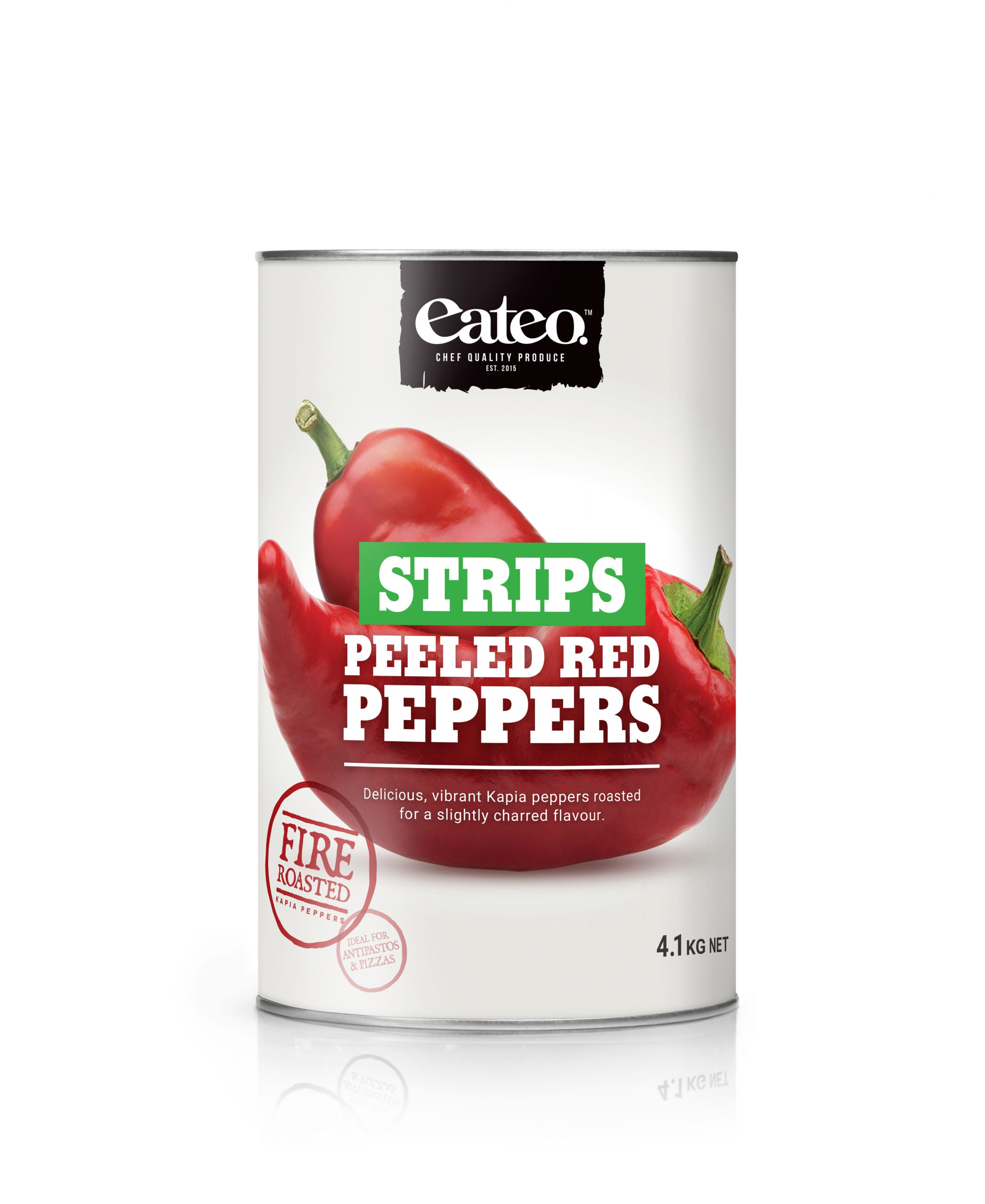 Peeled Red Peppers Strips