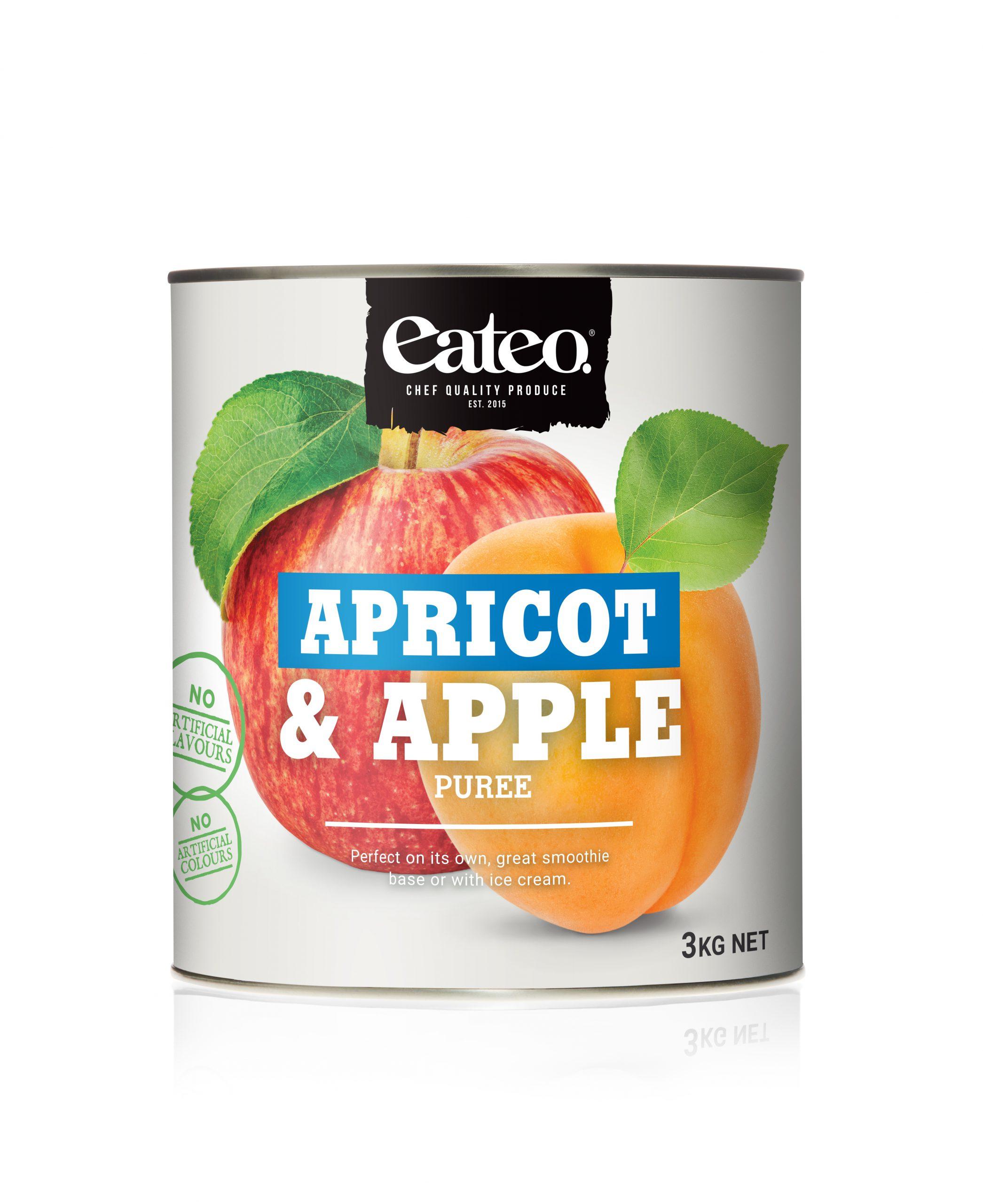Apricot & Apple Puree