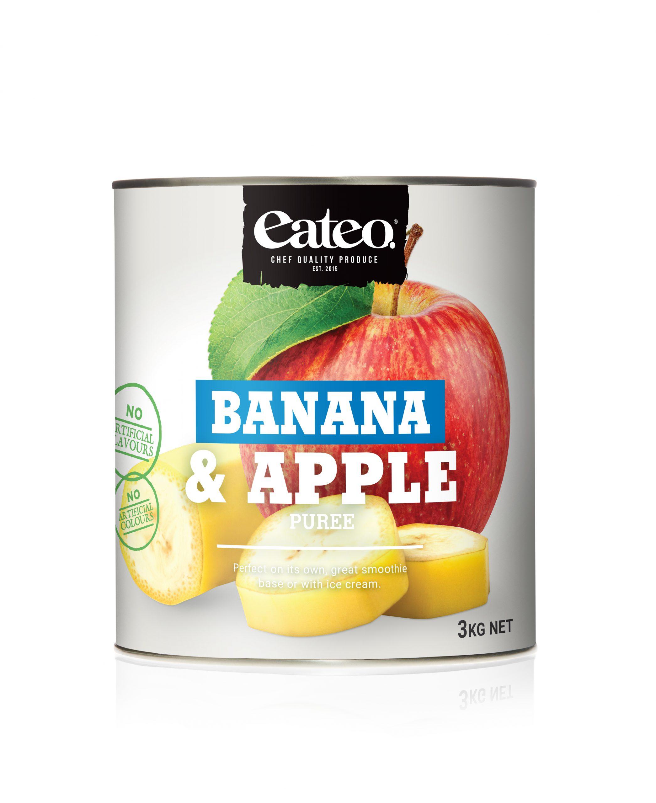 Banana & Apple Puree