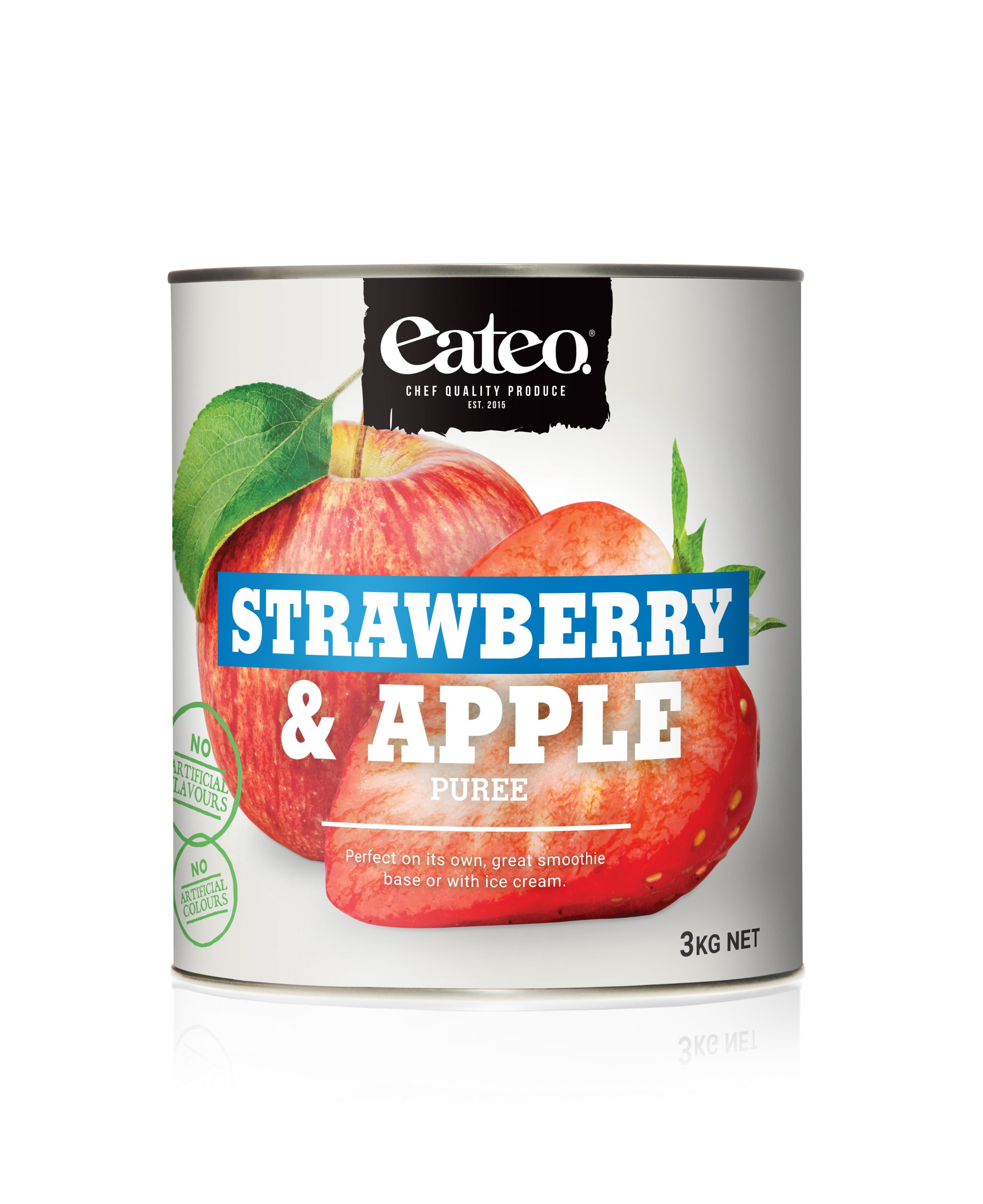 Strawberry & Apple Puree