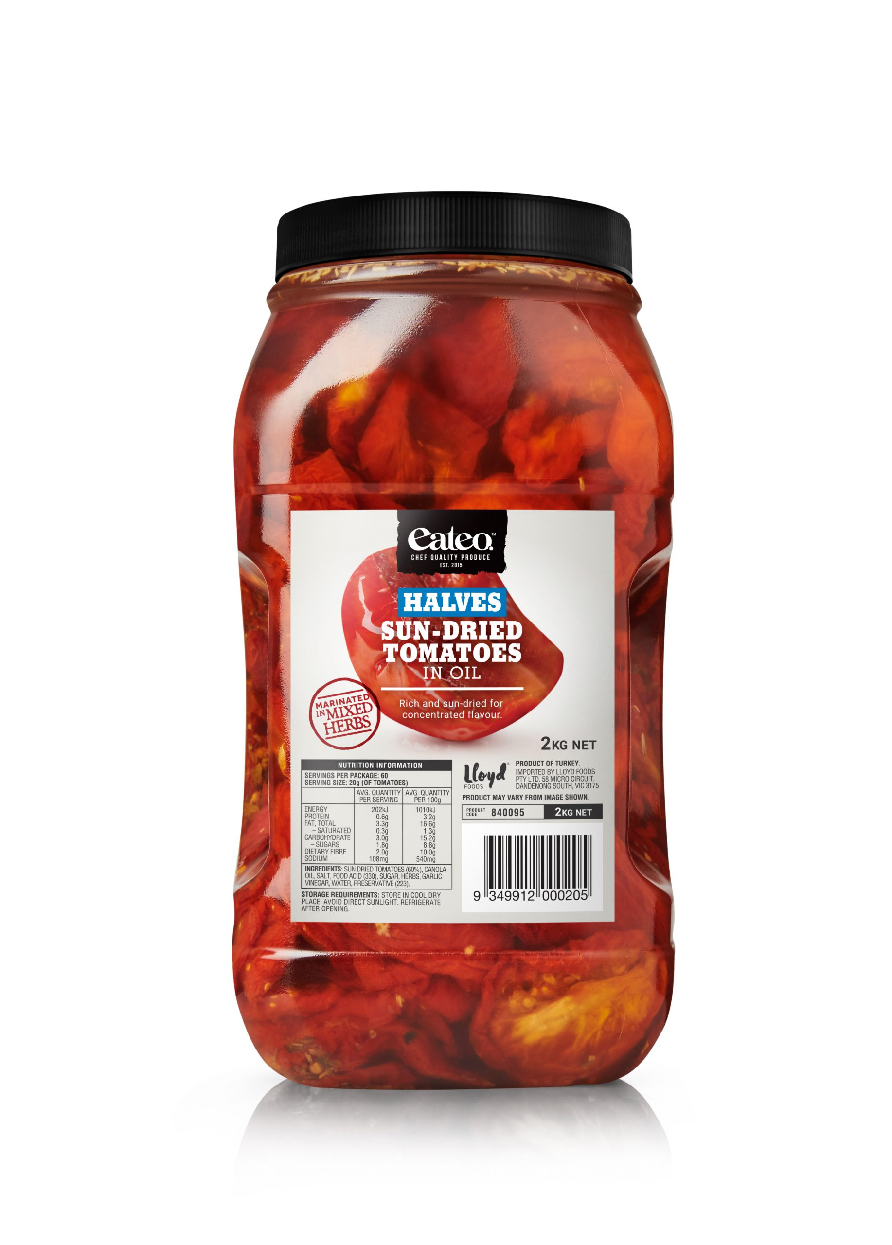 Halves Sun-Dried Tomatoes in Oil